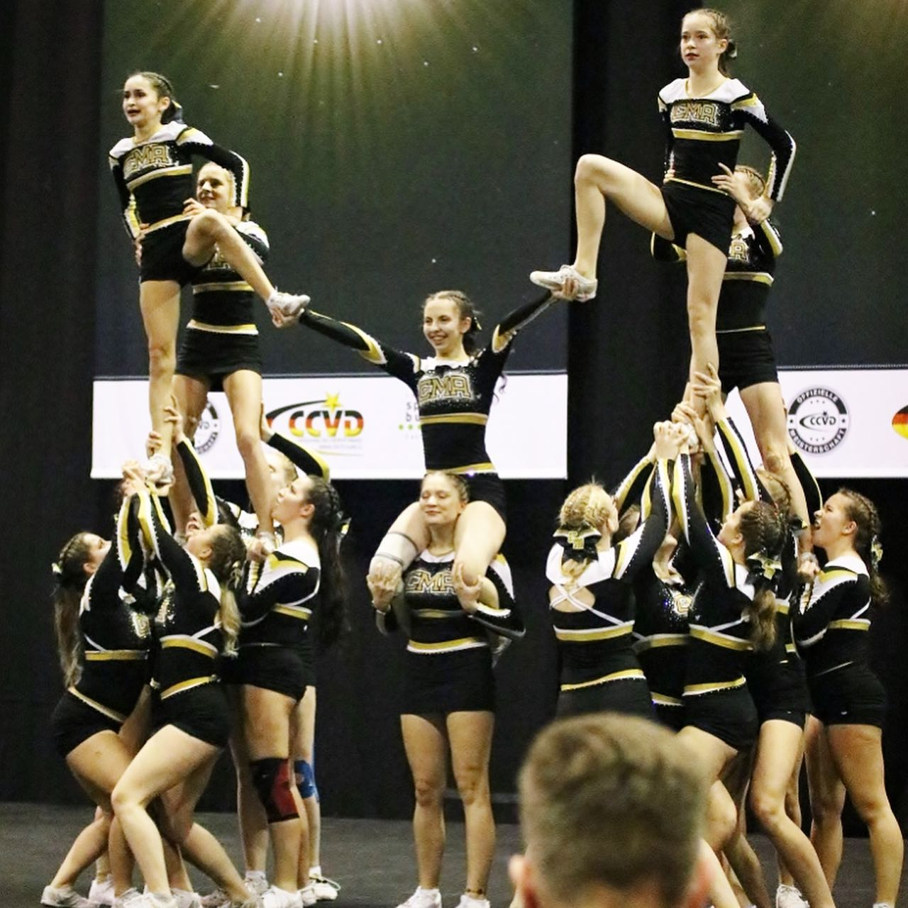 lustige cheerleader momente